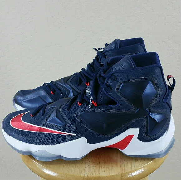 Nike Lebron XIII 13 USA Men's Basketball Shoes 807